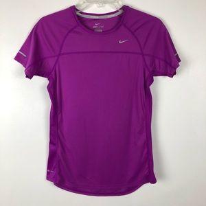 Nike Running Miler Reflective Dri-Fit Tee